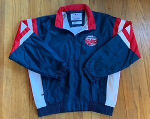 Minnesota-Twins-Vintage-90-s-Starter-Full-ZIP-Jacket-Size-L-EUC-Rare-MLB
