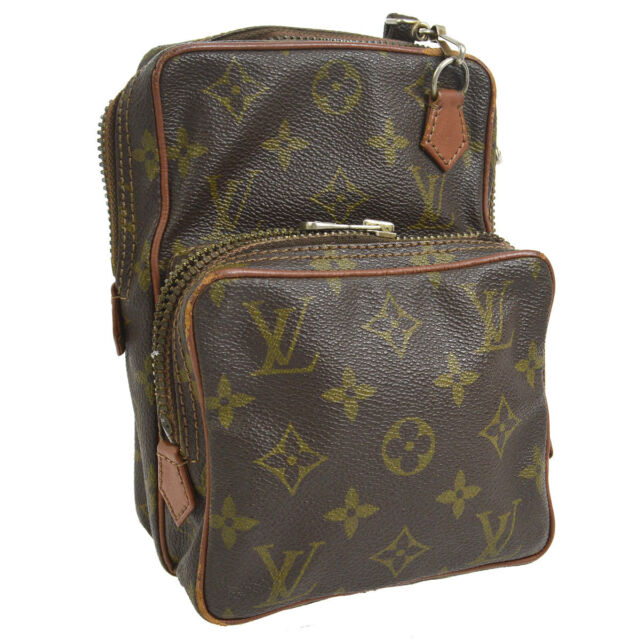 3abf155eaf6d AUTH LOUIS VUITTON MINI AMAZON CROSS BODY SHOULDER BAG MONOGRAM M45238  A40361