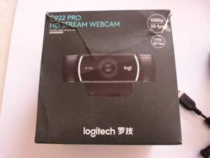 Caméra logitech C922 Pro HD Stream Webcam