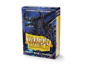 Japanese Classic Night Blue 60 ct Dragon Shield Sleeves YuGiOh Size 10% OFF 2+