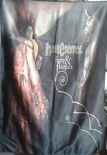 HATE ETERNAL Fury & Flames FLAG CLOTH POSTER WALL TAPESTRY BANNER CD Death Metal