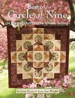 Best of Circle of Nine: 14 Favorite Quilts * One Simple Setting * Stunning Results Combining the Best of the Best-Selling Circle of Nine Series by Jean Ann Wright, Janet Houts (Paperback, 2015)