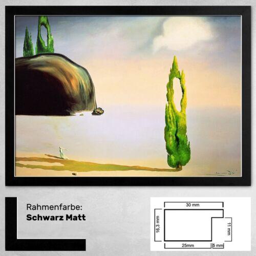 Vide Bild 50 x 70 cm Kunstdruck Salvador Dali Echo of the Void L'eco del Vuoto