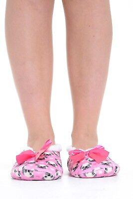 Mujeres Co-Zees Navidad Patrón de Impresión de diseño de 3 Calcetines Sherpa Ballerina Tenis