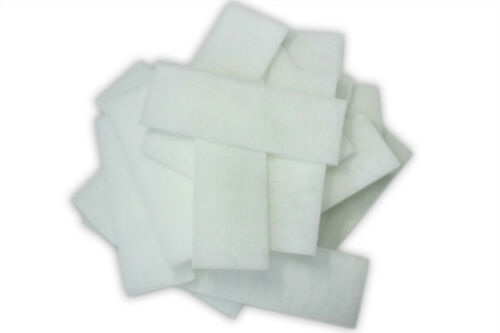 Polishing Polyester Filter Media Pads Fit U3 Filter Generic Foam Carbon Foam