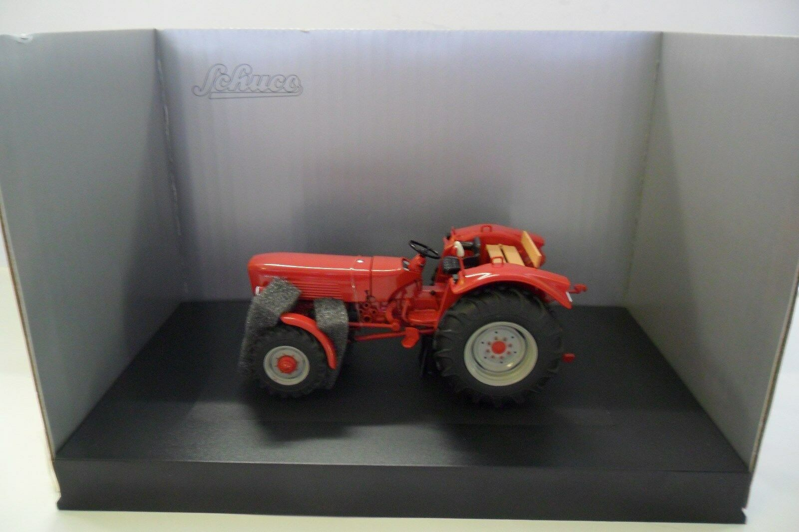 SCHUCO 1 32 TRATTORE TRACTOR  GÜLDNER G75 A rouge rouge  ART 7783