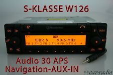 Mercedes Original Navigationssystem W126 C126 S-Klasse Audio 30 APS AUX-IN Navi