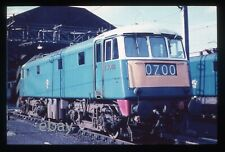 35mm Railway slide - AC Electric E3082 (85027) at Willesden shed / c. 1966.