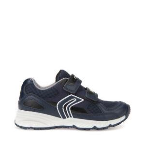 Caricamento dell immagine in corso GEOX-BERNIE-J8211C-Scarpe -bambini-ragazzi-Junior-sneakers- cc2c01dd369