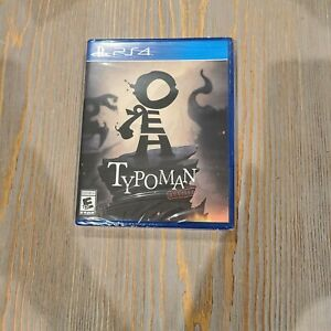 Typoman-Revised-PS4-Playstation-4-Limited-Run-Games-135-Review-Promo-Copy-NEW