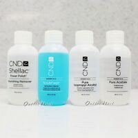 Cnd Essential 2oz - Choose Scrubfresh, Pure Alcohol, Nourishing Remover, Acetone