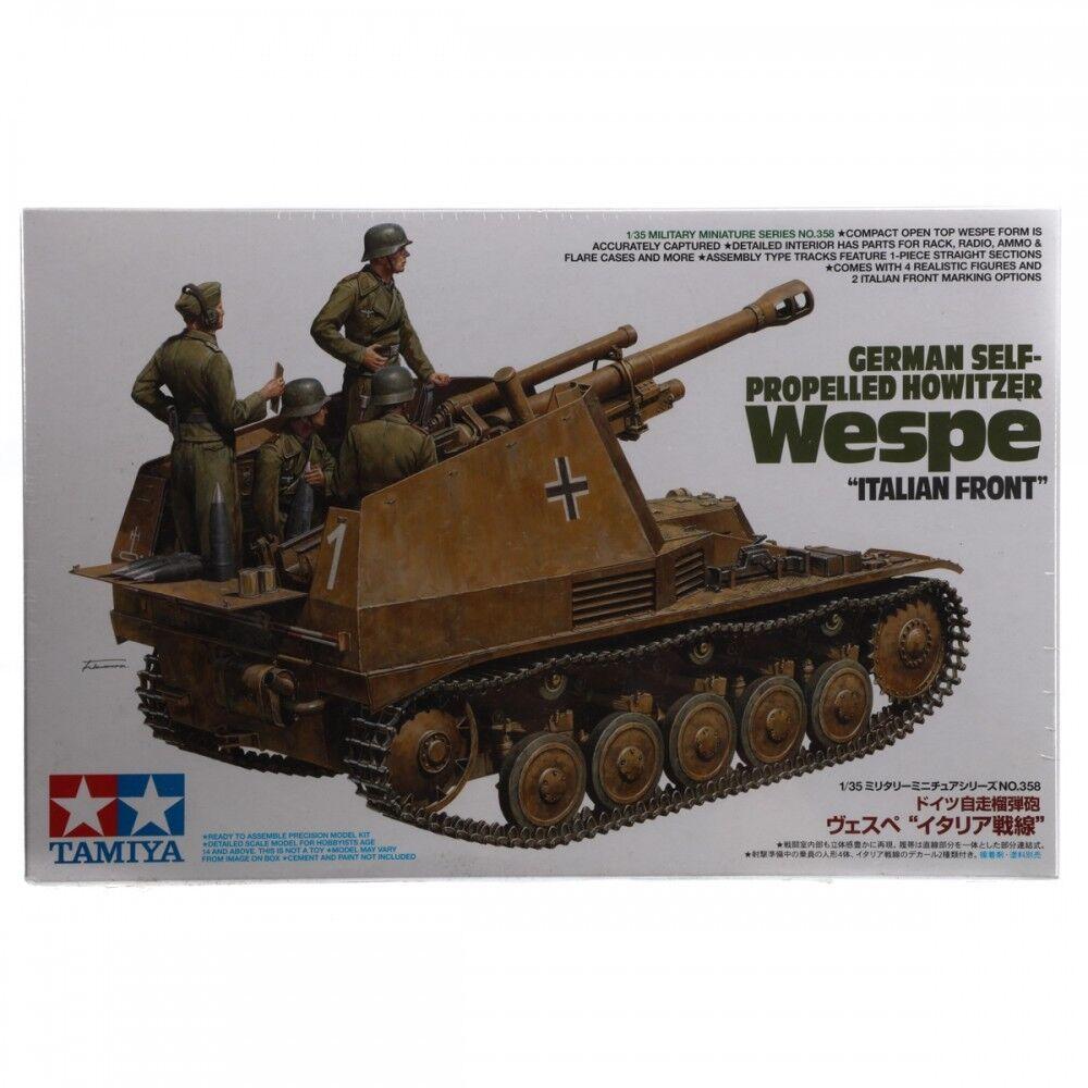 Tamiya 1 35 German SP Howitzer Wespe Italian Front 35358