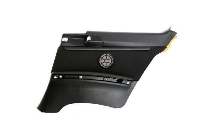 BMW 3 Series E92 Trasero Derecho LADO DEL CONDUCTOR Puerta Revestimiento Negro