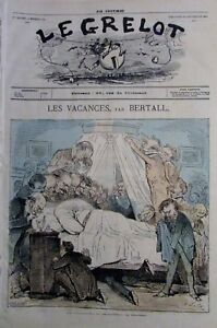 Caricature-Vacances-Commission-Monitoring-Journal-Satirical-the-Bell-of-1871
