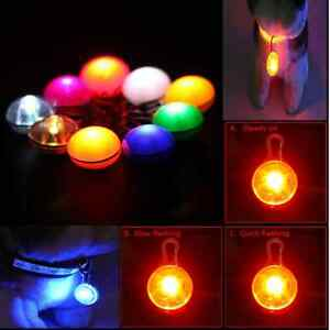 2x-New-LED-Pet-Cat-Dog-Buckle-Night-Light-Flashing-Safety-Collar-Neon-Pendant
