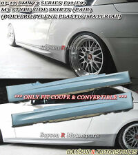 M-Style Side Skirts (PP) Fits (07-13 BMW E92/E93 2dr 3-Series)