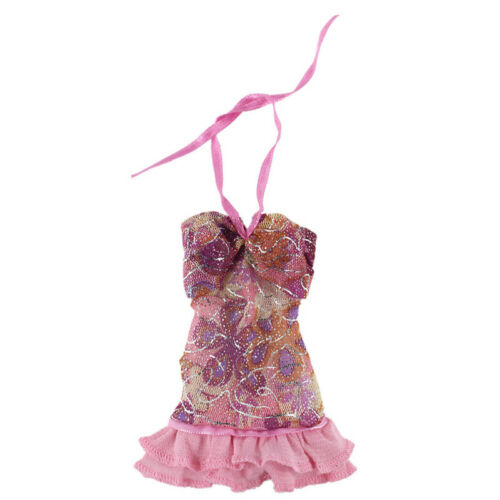 """Floral Lace Doll Clothes For 11.5/"""" 1//6 Doll Dress Gown Short Dresses Outfits Toy"""