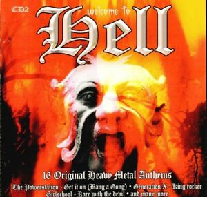 Various-Metal-CD-Album-Welcome-To-Hell-CD2-Disky-BX902945-EU-2005