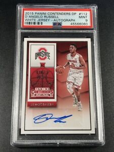 D-039-ANGELO-RUSSELL-2015-PANINI-CONTENDERS-112-AUTO-ROOKIE-RC-PSA-9