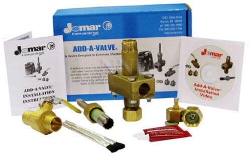 De 3//4 Pulgadas Roscada añadir una válvula-emergencia apagado dispositivo Jomar Modelo 800-104add