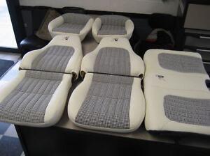 1997 30th Anniversary Camaro Seat Covers White W Black