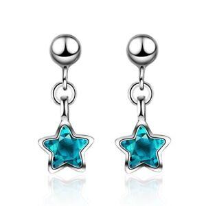 925-Sterling-Silver-Full-Gems-Crystal-Stud-Earrings-Womens-Girls-Jewellery-Gift