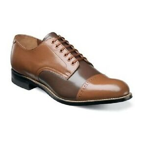 Image is loading Mens-Madison-Stacy-Adams-Shoes-kidskin-leather-oxford-
