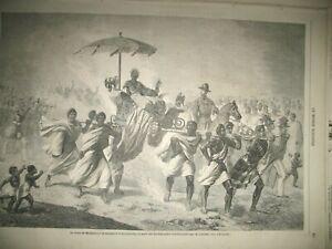 REINE-DE-MADAGASCAR-MEXIQUE-NAUFRAGE-CUIRASSe-ESPAGNE-Gal-O-039-DONNEL-GRAVURES-1863