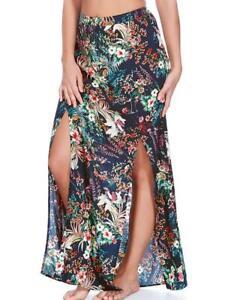Freya-Club-Tropicana-Maxi-Skirt-Midnight-Blue-Floral-Swimsuit-Bikini-Cover-Up