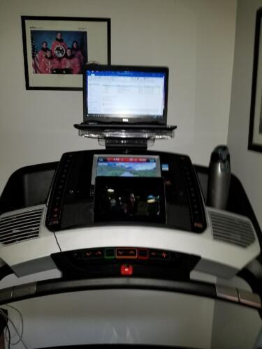 SurfShelf Treadmill Desk Laptop And IPad Holder EBay Gorgeous Acrylic Magazine Holder For Treadmill