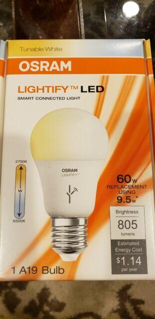 OSRAM 9.5 W LED Light Bulb STAR CLASSIC A70 Lamp E27 E26 70W 2700K 6500K Frosted