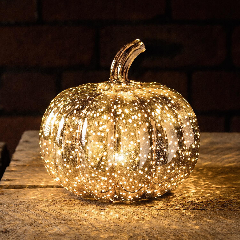 Led Dekoration Kurbis Halloween Deko Tisch Dekoration Warmweiss