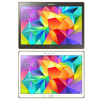 Samsung Galaxy Tab S 10.5 SM-T807V Wi-Fi + 4G LTE Unlocked GSM / Verizon CDMA