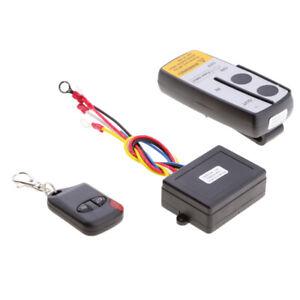 Wireless-Kit-Telecomando-Verricello-12V-24v-KLS-998X-Auto-ATV-SUV