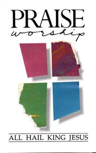 Hosanna-Music-All-Hail-King-Jesus-with-Kent-Henry-Cassette-Tape-1987