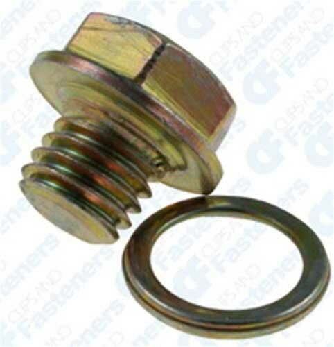 2 Transmission Drain Plugs /& Gaskets M10-1.5 For Jeep Lexus