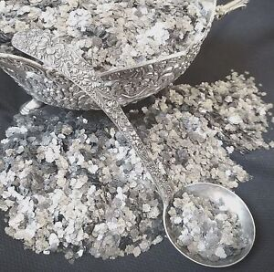 2-CUPS-of-Mica-Flakes-Vintage-Mica-SILVER-Approx-1-4-034-Size