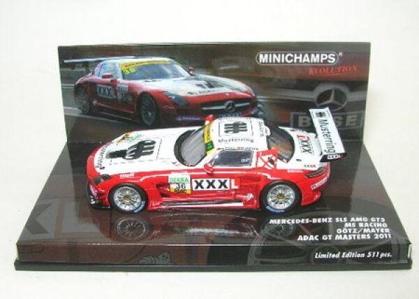 MERCEDES BENZ sls AMG gt3 No. 36 ADAC GT Masters 2011