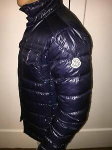 moncler jacket navy blue
