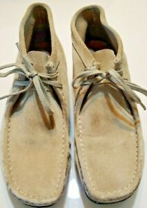 Clark-s-Originals-Wallabees-Boot-Chukka-Sand-Suede-Mens-Size-9-5
