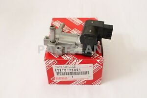 IDLE SPEED CONTROL FOR THLOTTLE BODY 2227075051 Genuine Toyota VALVE ASSY
