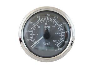 GPS Digitale Tachimetro mph & km/H per Barche Auto Trattori Moto Quad 85mm