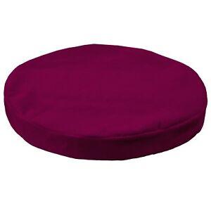 mb61t Magenta Berry Flat Velvet Style 3D Box Sofa Seat Cushion Cover*Custom Size