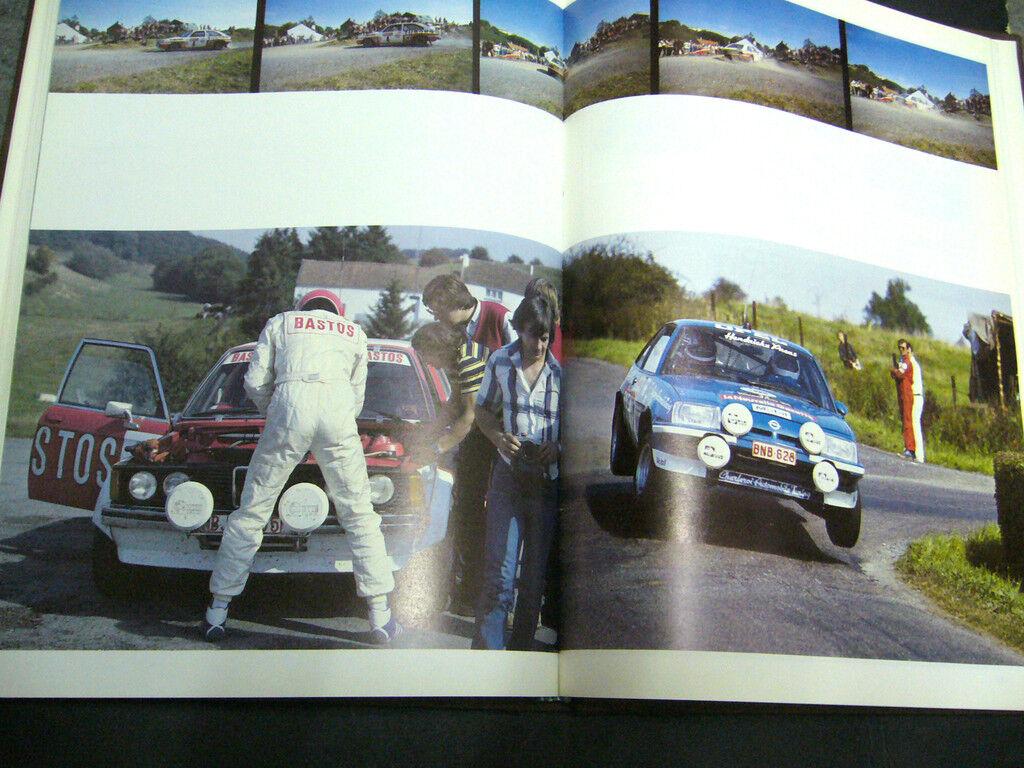 BUCH Rallye Rally 1982 livre des Rallyes Lauwerens Belgien Rarität 911 BMW 400