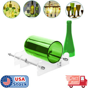 Glass-Bottle-Cutter-Kit-Beer-Wine-Jar-DIY-Cutting-Machine-Craft-Recycle-Tools-US
