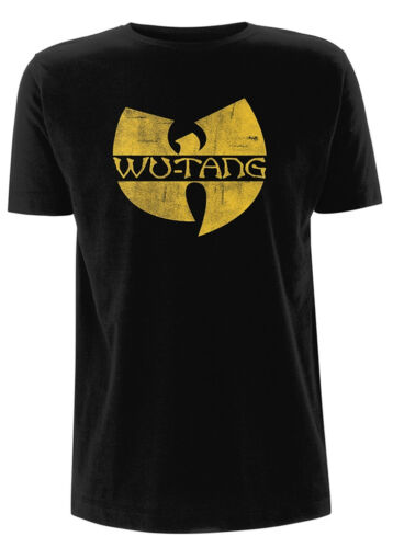 NEW /& OFFICIAL! Wu-Tang Clan /'Distressed Logo/' T-Shirt
