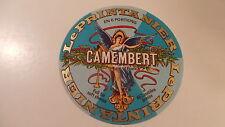 Ancienne étiquette de fromage Camembert Le printanier fr084