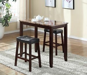Pub-Table-Set-3-Piece-Bar-Stools-Dining-Kitchen-Furniture-Counter-Height-Chairs