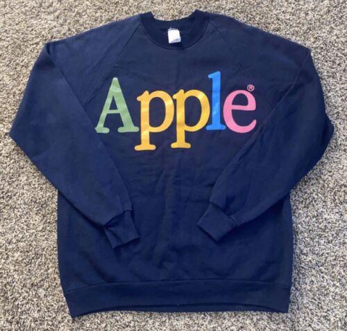 Vintage Apple Computers Jerzees Sweatshit T Shirt