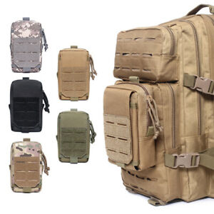 Tactical Molle Pouch Outdoor Bag Utility EDC Pouch for Backpack Belt Pack